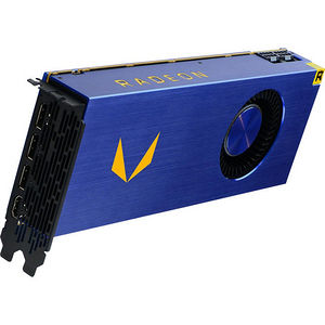 AMD 100-506061 Radeon Vega Graphic Card - 1.38 GHz Core - 16 GB HBM2 - Full-height - Dual Slot