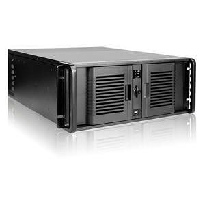 iStarUSA D-407P-500R8PD8 4U Compact Stylish Rackmount Chassis with 500W Redundant Power Supply