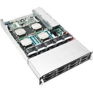 ASUS RS920-E7/RS8 2U Rackmount Barebone - Intel C602-A Chipset - Socket R LGA-2011 - 4x CPU Support