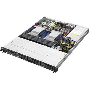 ASUS RS500-E8-PS4 1U Rackmount Barebone - Intel C612 Chipset - Socket LGA 2011-v3 - 2 x CPU Support