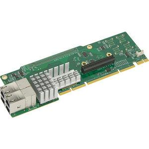 Supermicro AOC-2URN4-I4XT 2U Ultra Riser with 4-port 10Gbase-T