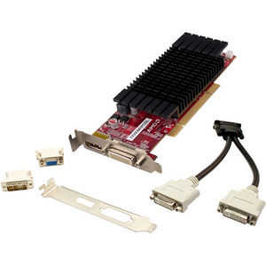 VisionTek 900608 Graphic Card - 650 MHz Core - 512 MB DDR3 SDRAM - PCI - Low-profile - Single Slot