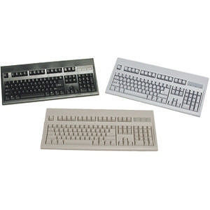 KeyTronic E03601P15PK Wired PS/2 Beige Keyboard (Pack of 5)