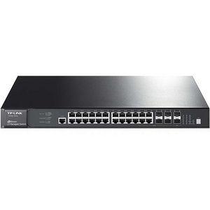 TP-LINK T3700G-28TQ JetStream 28-Port Gigabit Stackable L3 Managed Switch
