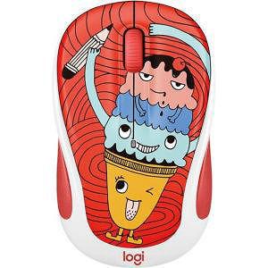 Logitech 910-005026 Doodle Collection M325c Wireless Mouse