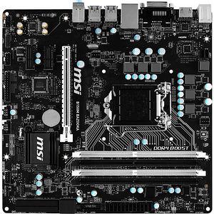 MSI B150M BAZOOKA Desktop Motherboard - Intel Chipset - Socket H4 LGA-1151