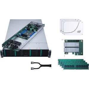 Intel LADMP2312KXXX43 2U Rack Server - 4 x Xeon Phi 7210 64 Core 1.30 GHz - 384 GB DDR4 SDRAM