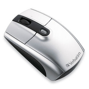 Verbatim 96672 Wireless Notebook Laser Mouse