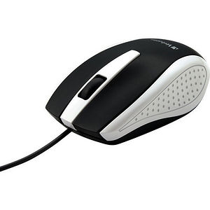 Verbatim 99740 Corded Notebook Optical Mouse - White
