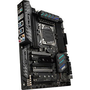 MSI X299 SLI PLUS Desktop Motherboard - Intel Chipset - Socket R4 LGA-2066
