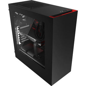 NZXT CA-S340MB-GR S340 Mid Tower Case