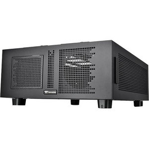 Thermaltake CA-1F4-00D1NN-00 Core P200 Computer Case - Pedestal - Black