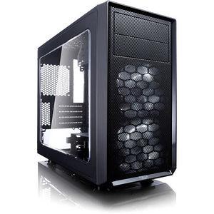 Fractal Design FD-CA-FOCUS-MINI-BK-W Focus G mATX Mid-Tower Computer Case with Side Window