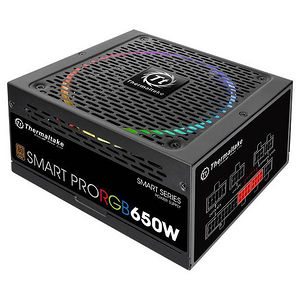 Thermaltake PS-SPR-0650FPCBUS-R Smart Pro RGB 650W Bronze Fully Modular