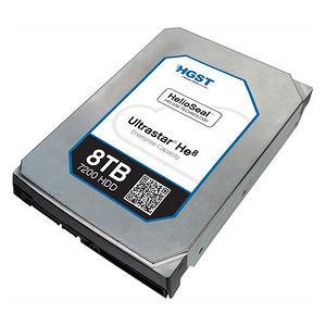 "HGST 0F23658 Ultrastar He8 512E TCG FIPS HUH728080AL5205 8 TB SAS 3.5"" 7200 RPM 128 MB Hard Drive"