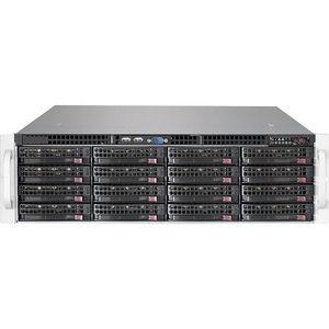 Supermicro CSE-836BE1CR1K03JBOD SuperChassis Drive Enclosure - 3U Rack-mountable - Black