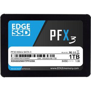 "EDGE PE250614 PFX3 1 TB 2.5"" Internal Solid State Drive - SATA"
