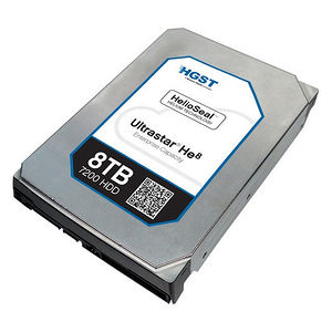 """HGST 0F23654 Ultrastar He8 4KN SE HUH728080AL4204 8 TB SAS 3.5"""" 7200 RPM 128 MB Cache Hard Drive"""