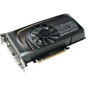 EVGA 01G-P3-1450-TR GeForce 450 Graphic Card - 822 MHz Core - 1 GB GDDR5 - PCI Express 2.0 x16