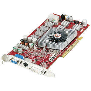 AMD 100-435002 RADEON 9800 PRO Graphics Card