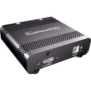 Matrox D2G-DP-MIF DualHead2Go DP Edition Multiview Device