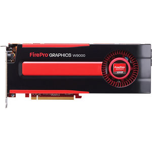 AMD 100-505632 FirePro W9000 - 6 GB GDDR5 - PCIe 3.0 x16 - Full Length/Height - Dual Slot