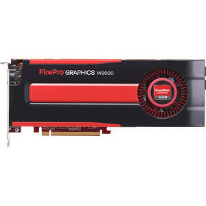 AMD 100-505633 FirePro W8000 Graphic Card - 4 GB GDDR5 - PCI-E 3.0 x16 - Full-length - Dual Slot