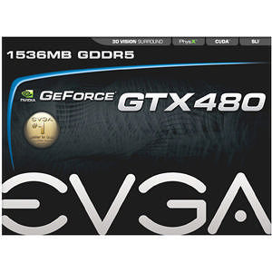 EVGA 015-P3-1480-TR GeForce 480 Graphic Card - 700 MHz Core - 1.50 GB GDDR5