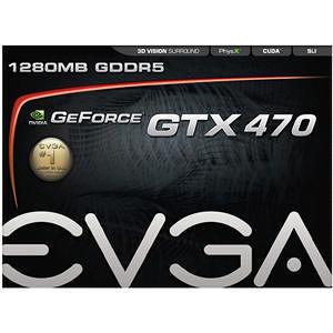 EVGA 012-P3-1470-TR GeForce 470 Graphic Card - 607 MHz Core - 1.25 GB GDDR5