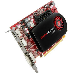 AMD 100-505844 FirePro V4900 Graphic Card - 800 MHz Core - 1 GB GDDR5 - PCI-E 2.1 x16 - Half-length