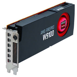 AMD 100-505725 FirePro W9100 Graphic Card - 930 MHz Core - 16 GB GDDR5 - PCI-E 3.0 x16 - Dual Slot