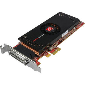 AMD 100-505841 FirePro 2450 Graphic Card - 512 MB GDDR3 - PCI Express x1 - Half-length/Low-profile