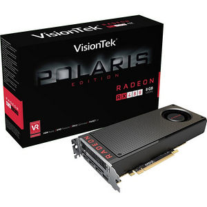 VisionTek 900888 Radeon RX 480 Graphic Card - 1.12 GHz Core - 8 GB GDDR5 - PCI Express 3.0 x16