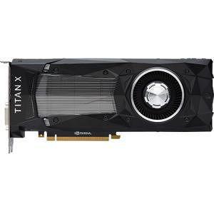 NVIDIA 900-1G611-2500-000 GeForce TITAN X Graphic Card - 1.42 GHz Core - 12 GB GDDR5X - PCI-E 3.0