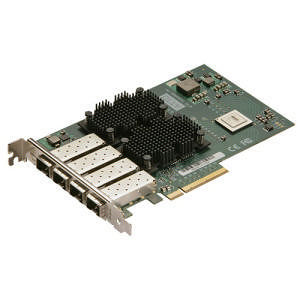 ATTO FFRM-NS14-000 Fast Frame Quad Channel 10GbE to x8 PCIe 2.0 Ethernet Adapter, LC SFP+ included