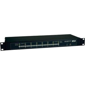 Tripp Lite B007-008 8-Port Rackmount KVM Switch w/ On-Screen Display Steel 1U