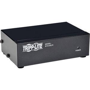 Tripp Lite B114-002-R 2-Port VGA / SVGA Video Splitter Signal Booster High Resolution Video