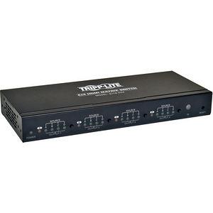 Tripp Lite B119-4X4 4x4 HDMI Matrix Video Switch Splitter with Audio and RS232 TAA