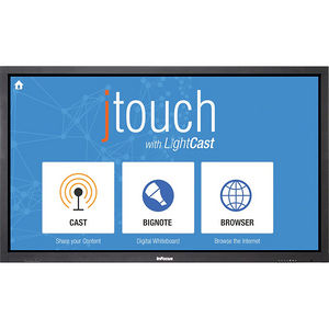 "InFocus INF6501CP JTouch 65"" LCD Touchscreen Monitor - 16:9 - 6.50 ms"