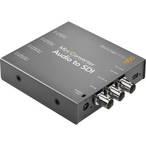 Blackmagic Design CONVMCAUDS Mini Converter Audio to SDI