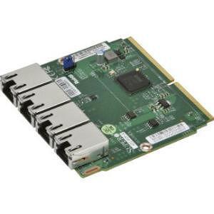 Supermicro AOC-MGP-I4M-O AddOn 4-Port Gigabit Ethernet Adapter