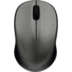 Verbatim 99769 Silent Wireless Blue LED Mouse - Graphite