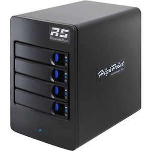 HighPoint RS6114V 4-Bay Tower Enclosure