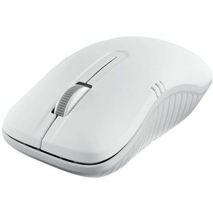 Verbatim 99768 Wireless Notebook Optical Mouse, Commuter Series - Matte White
