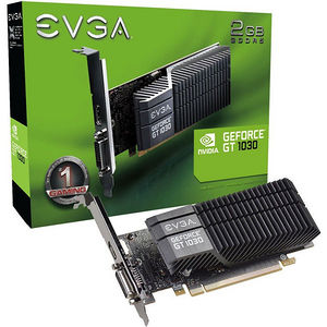 EVGA 02G-P4-6332-KR GeForce GT 1030 Graphic Card - 1.29 GHz Core - 2 GB GDDR5 - Low-profile