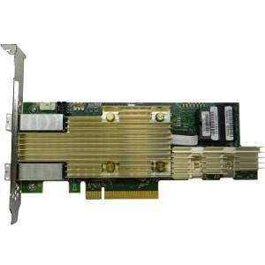Intel RSP3MD088F Tri-mode PCIe/SAS/SATA Full-Featured RAID Adapter, 8 Internal & 8 External Ports