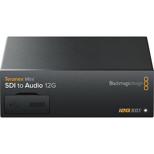 Blackmagic Design CONVNTRM/CA/SDIAU Teranex Mini - SDI to Audio 12G