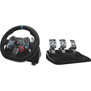 Logitech 941-000110 G29 Driving Force Racing Wheel For Playstation 3 And Playstation 4