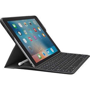 "Logitech 920-008131 CREATE Keyboard/Cover Case (Folio) for 9.7"" iPad Pro - Black"