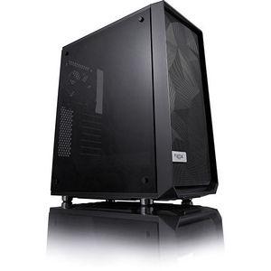 Fractal Design FD-CA-MESH-C-BKO-TG Meshify C Window Computer Case - Mid-tower - Black